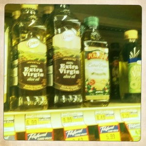 Olive Oil at Albertson's