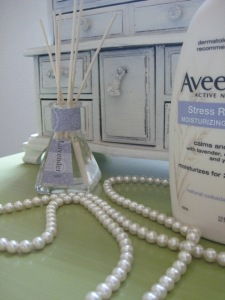 Lavender Products Around My Apartment