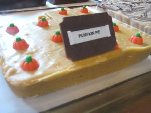 Pumpkin Pie Fudge at Avila Valley Barn